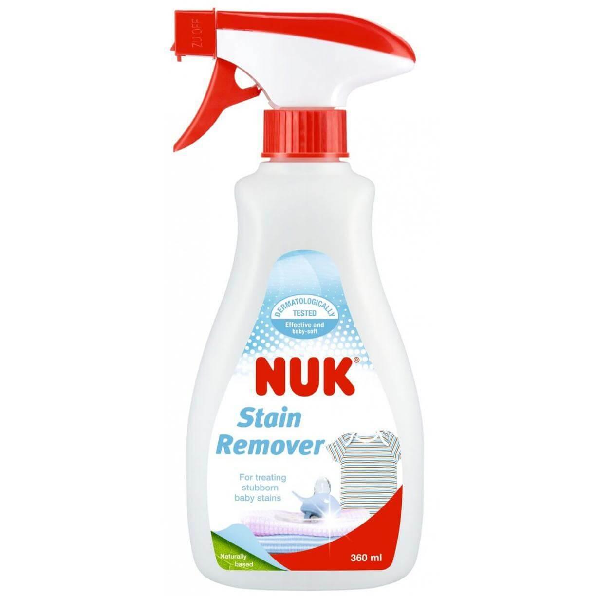 Nuk Stain Remοver Καθαριστικό κατά των Επίμονων Λεκέδων στα Βρεφικά Ρούχα 360ml