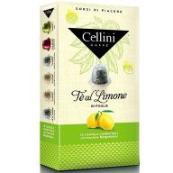 Cellini Caffe Te al Limone Αγνό Μαύρο Τσάι με Άρωμα Λεμονιού Συμβατές με Συσκευή Nespresso 10caps