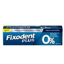 Fixodent Pro Plus 0% Στερεωτική Κρέμα για την τεχνητή οδοντοστοιχία 40 gr
