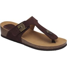 Dr Scholl Shoes Gandia 2.0 Dark Brown Γυναικεία Ανατομικά Παπούτσια Χαρίζουν Σωστή Στάση & Φυσικό Χωρίς Πόνο Βάδισμα 1 Ζευγάρι - 42