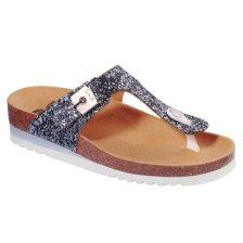 Dr Scholl Shoes Glam SS 1 Pewter Γυναικεία Ανατομικά Παπούτσια Χαρίζουν Σωστή Στάση & Φυσικό Χωρίς Πόνο Βάδισμα 1 Ζευγάρι - 36