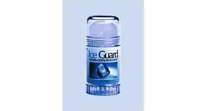 Ice Guard Natural Crystal Deodorant Twist Up Αποτρέπουν Αποτελεσματικά Την Κακοσμία 120gr