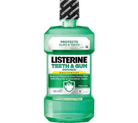 Listerine Teet & Gum Defence Ενδυναμώνει Τα Δόντια Και Προστατεύει Τα Ούλα 250ml
