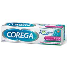 Corega 3D Hold Super Στερεωτική Κρέμα Οδοντοστοιχιών Βοηθά στη Συγκράτηση της Οδοντοστοιχίας για Μέχρι και 12 Ώρες 40gr