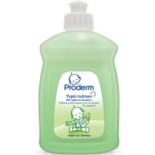Proderm Υγρό Πιάτων με Πράσινο Σαπούνι Ειδικά Μελετημένο για τα Ευαίσθητα Σκεύη του Μωρού 500ml