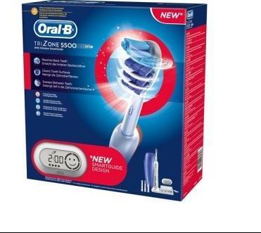 Oral-B Ηλεκτρική Οδοντόβουρτσα Trizone 5500 with SmartGuide