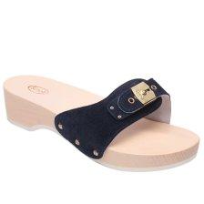 Dr Scholl Shoes Pescura Heel Navy Blue Γυναικεία Ανατομικά Παπούτσια Χαρίζουν Σωστή Στάση & Φυσικό Χωρίς Πόνο Βάδισμα 1 Ζευγάρι - 41
