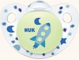 Nuk Trendline Night & Day σιλικόνης χωρίς κρίκο, μεγέθη 1-3 - Μέγεθος 3 (18-36 μηνών)