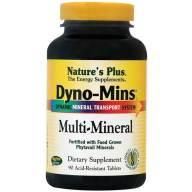 Nature's Plus Multi Mineral Dyno-Mins Συμπλήρωμα Διατροφής για την Εξασφάλιση της Υγείας των Οστών 90 Tablets