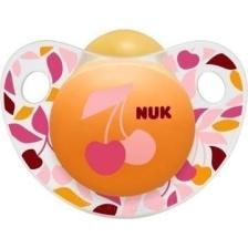 Nuk Trendline AdoreΠιπίλα ΚαουτσούκΧωρίς BPA - Μέγεθος 1 (0-6 μηνών)