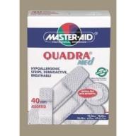 Master Aid Ταχυεπίδεσμοι Quadra Med 40 Strip Διάφορα Μεγέθη