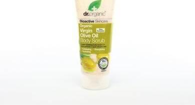 Dr Organic Organic Virgin Olive Oil Body Scrub Κρέμα Απολέπισης Σώματος με Βιολογικό Παρθένο Λάδι Ελιάς 200ml