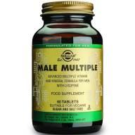 Solgar Male Multiple Συμπλήρωμα Διατροφής μια Σχεδιασμένη Πολυβιταμίνη Ειδικά Για Άνδρες 60 tablets