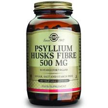 Solgar Psyllium Husks Fibre Συμπλήρωμα Διατροφής που Συμβάλλει στον Ομαλό Καθαρισμό του Εντερικού Συστήματος veg.caps/powder - powder 280gr