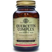 Solgar Quercetin Complex Συμπλήρωμα Διατροφής Εξαιρετικά Χρήσιμο στην Αντιμετώπιση Συμπτωμάτων Αλλεργίας veg.caps - 50 veg.caps