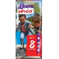 Libero Up&Go No8 (19-30kg), 30 πάνες