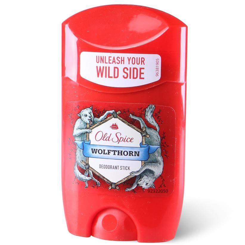 Old Spice Deo Stick Wolfthorn Αποσμητικό με Χαρακτηριστικό Αρρενωπό Άρωμα για Άνδρες 50ml Προσφορά -30%