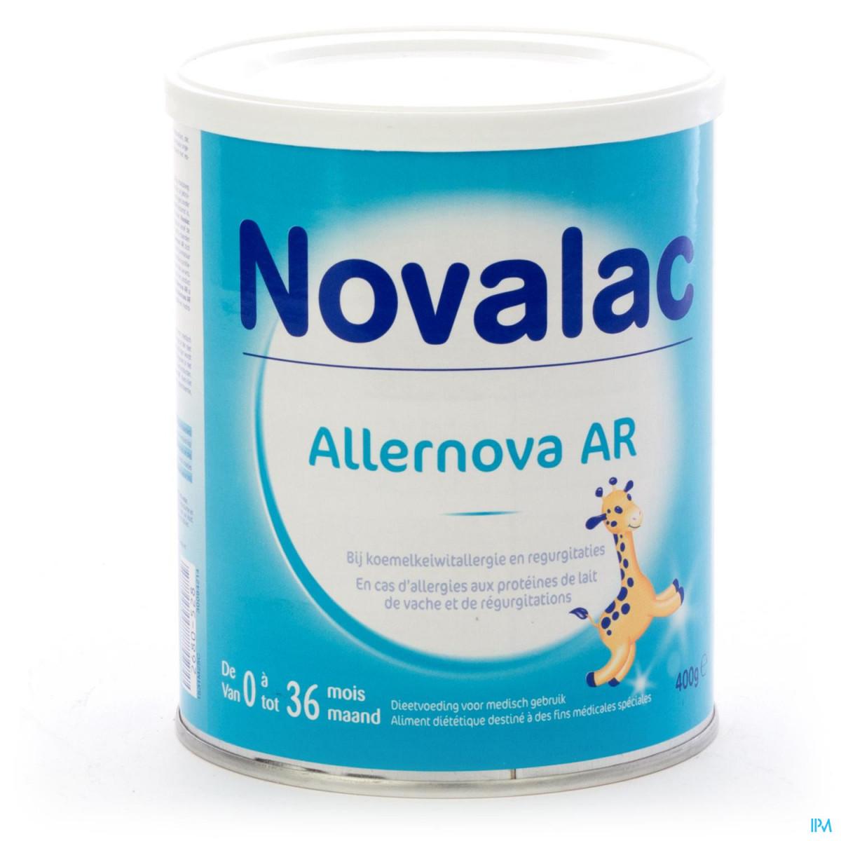 NOVALAC ALLERNOVA AR 400 G  Discount prices