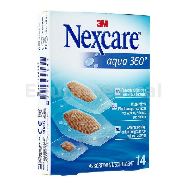 pansement nexcare aqua 360 - pharmacie charlet