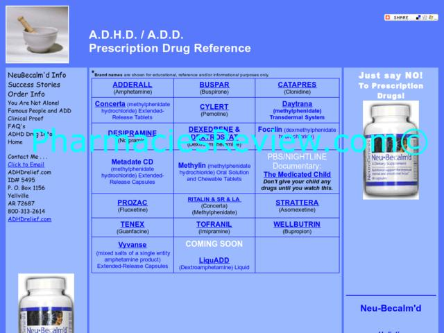 Adhd-drug.com Review   All Online Pharmacies Reviews And ...