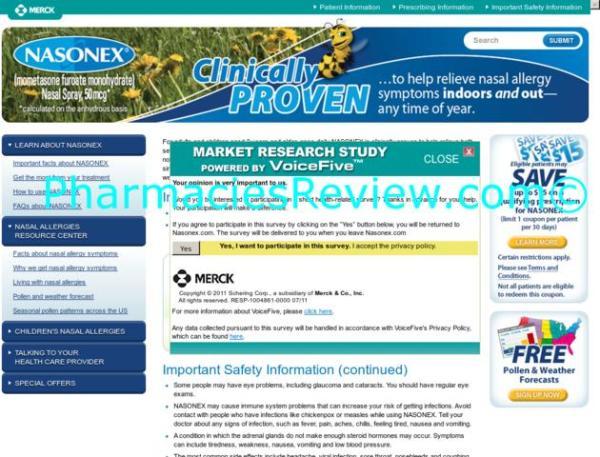 Nasonexcom Review All Online Pharmacies Reviews And