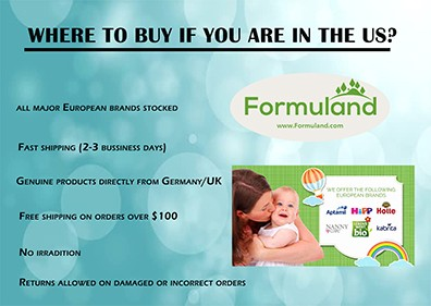 EUROPEAN BABY FORMULA SUPPLIER IN THE US