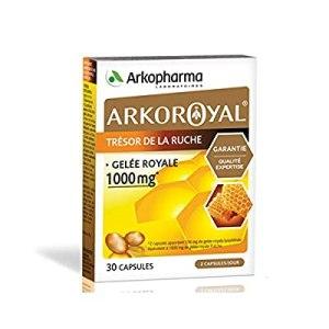 Arkopharma Arkoroyal Royal Jelly Orange/Honey Flavour 1000mg -15ml x 20 bulbs-