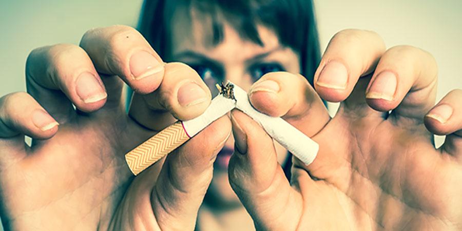 kick the smoking habit