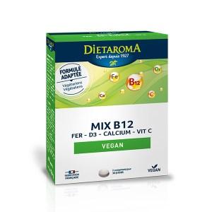 Dietaroma Mix B12 Fer-D3-Calcium-Vitc