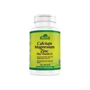 Alfa-Vitamins Calcium-Magnesium Zinc+VitD