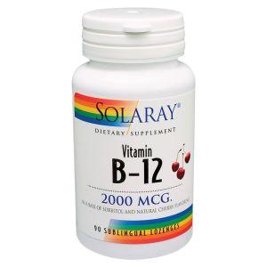 Solaray Vitamin B-12 1000Mcg