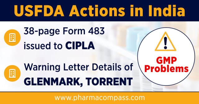 Fda Issues Form 483 To Cipla Warning