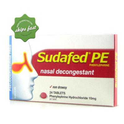 Buy Sudafed PE Nasal Decongestant 24
