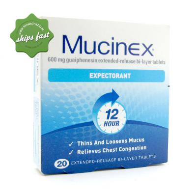 Buy Mucinex DM 1200 to relieve symptoms of a cough and ...