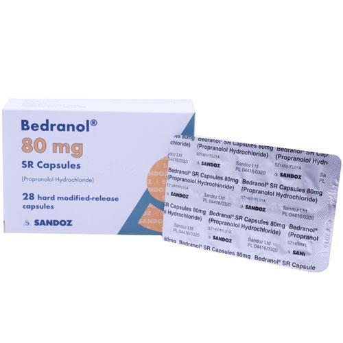 Propranolol MR 80mg Capsules