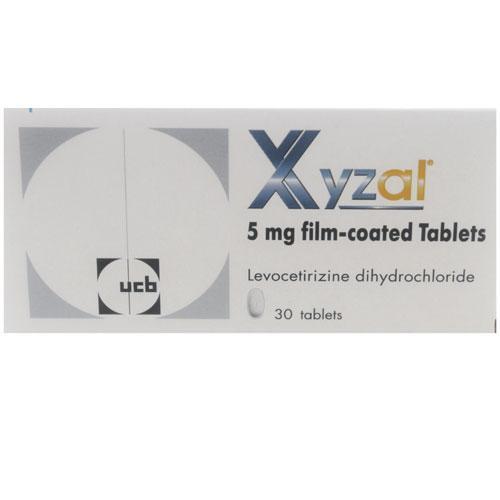 Xyzal (Levocetirizine Dihydrochloride) 5mg Tablets