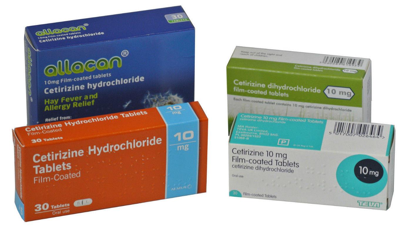 Cetirizine 10mg Tablet 30 – Pharmacy for Health