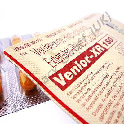 Venlor XR (Venlafaxine) - 150mg (10 Capsules ...