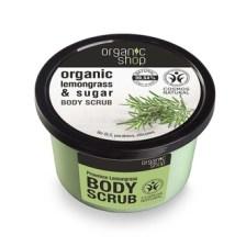 Natura Siberica - Organic Shop, Body scrub Provancal Lemongrass, Scrub σώματος, Λεμονόχορτο, 250ml