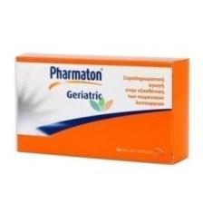 Pharmaton Geriatric 30 caps,Συμπλήρωμα Διατροφής με συνδυασμό Βιταμινών,Μετάλλων,ιχνοστοιχείων και Ginseng