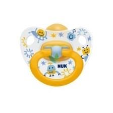 Nuk Πιπίλα Happy Kids Καουτσούκ 6-18m. (10.733.319)