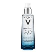 Vichy Mineral 89 - 100ml. Ενυδατικό Booster Προσώπου Ημέρας Με Ιαματικό Μεταλλικό νερό Vichy και Υαλουρονικό Οξύ.