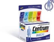Centrum Men - 30 Δισκία,Συμπλήρωμα Διατροφής για Άνδρες χωρίς Γλουτένη.