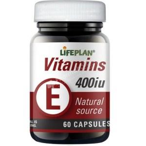 Lifeplan Vitamin E 400iu