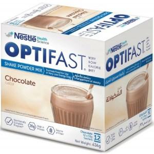 Optifast Shake Powder Mix Chocolate