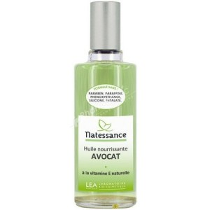 Natessance Nourishing Oil Avocado (Avocat)