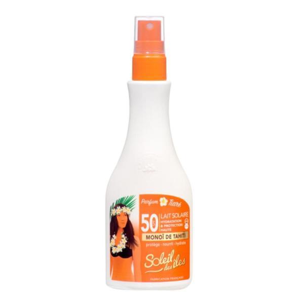 Soleil Des Îles Lait Solaire Parfum Tiaré SPF50