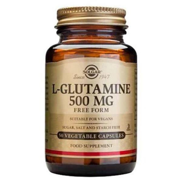 Solgar L-Glutamine 500mg