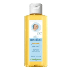 Klorane Baby Massage Oil with Calendula