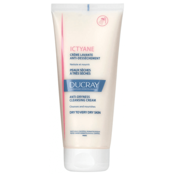 Ducray Ictyane Anti-dryness Cleansing Cream